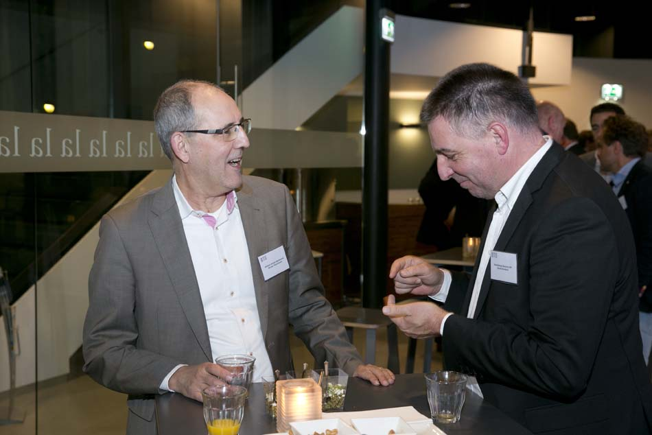 BTG Nieuwjaarsbijeenkomst 14 januari 2016 - Ger Jan Veenhoven (Allianz Global Assistance) & Henk Honders (Pointsharp Benelux)